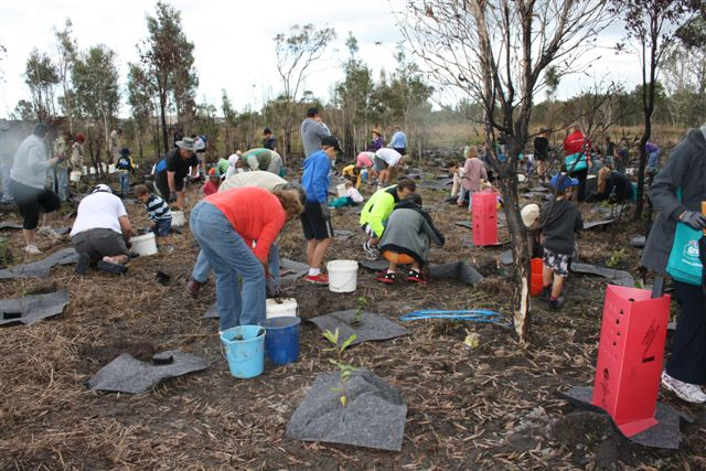 Image of tree planting froup